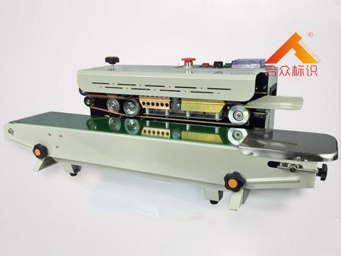 自动墨轮印字封口机